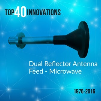 Dual-reflector-feed-compressed