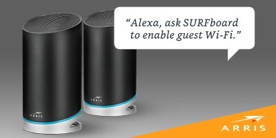 Alexa works with SURFboard mAX