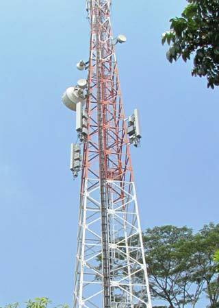 Ooredoo CommScope Indosat Tower Top